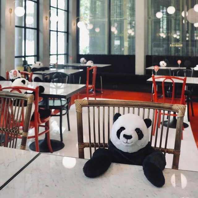 Ресторан оригинально «рассадил» своих посетителей (9 фото)