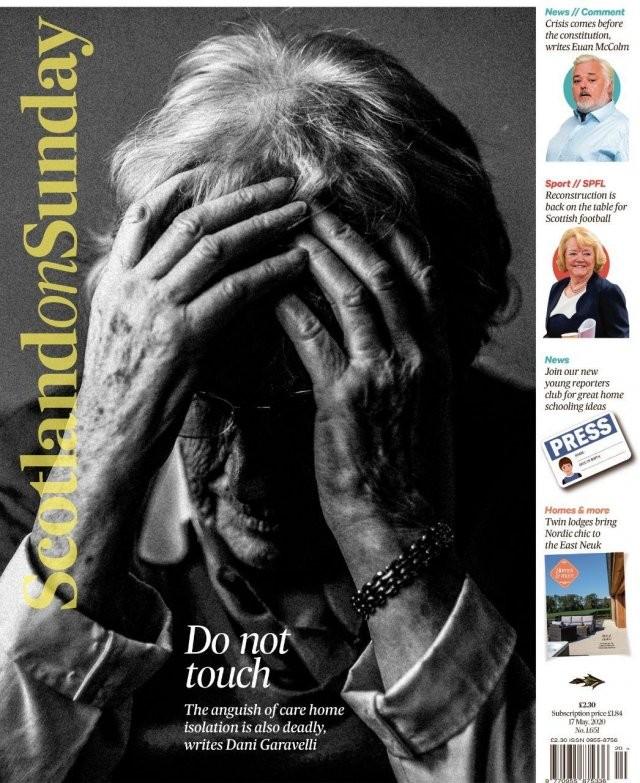 """""""Коронавирусные"""" обложки мировых СМИ (15 фото)"""