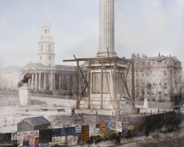 Известные достопримечательности в самом начале строительства (10 фото)