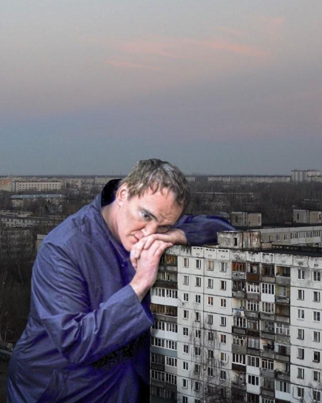 Художник нашел «применение» советским домам (15 фото)