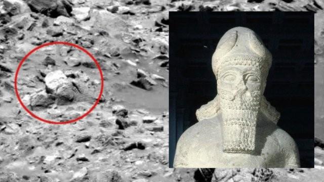 "Пользователи нашли на Марсе ""ложки"" и ""человеческие кости"" (12 фото)"