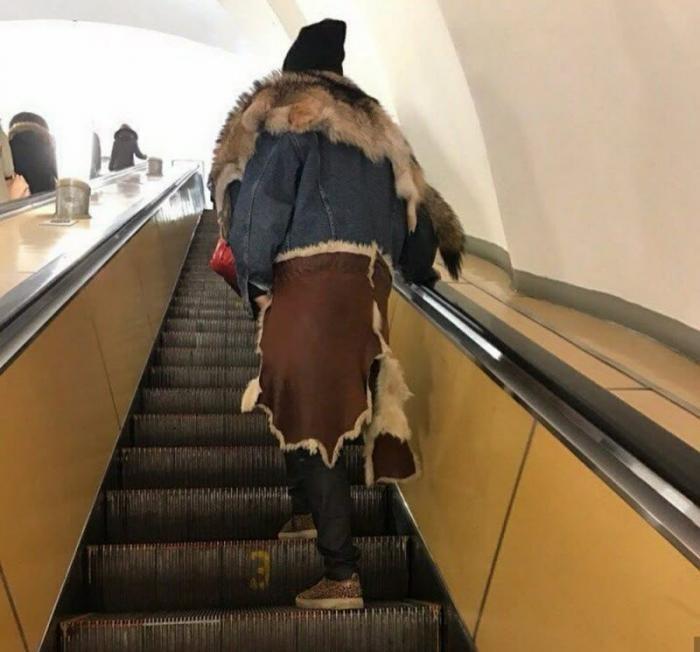 Модники из российского метрополитена (31 фото)