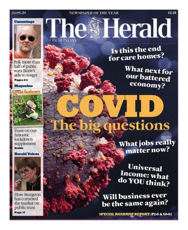 Обложки мировых СМИ - о коронавирусе и карантине (11 фото)