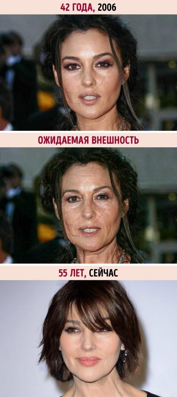 Как старели бы звезды, если бы они не были богатыми (10 фото)