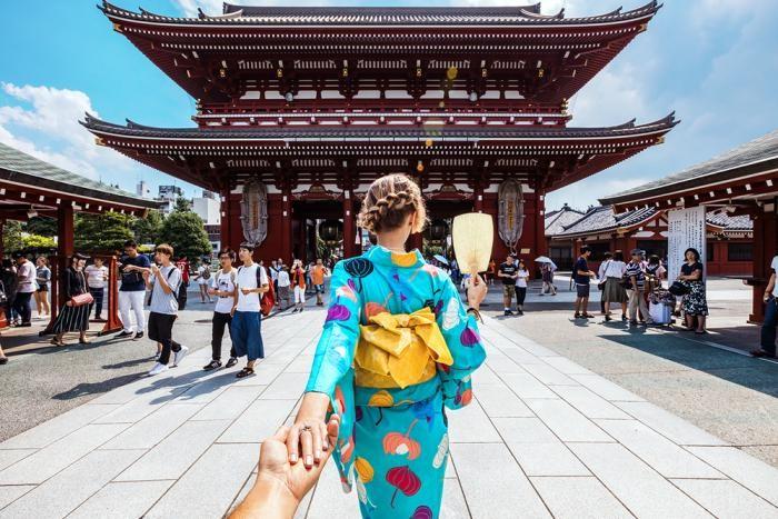В Японии туристам будут компенсировать расходы (4 фото)