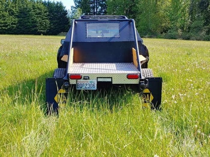 Универсал Subaru Outback переделали в очень странный пикап (11 фото)