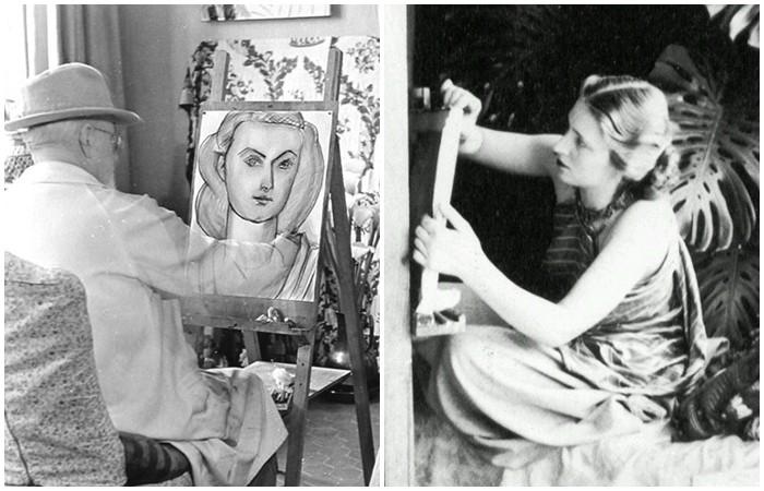 История девушки из России, ставшей музой великого Матисса (14 фото)