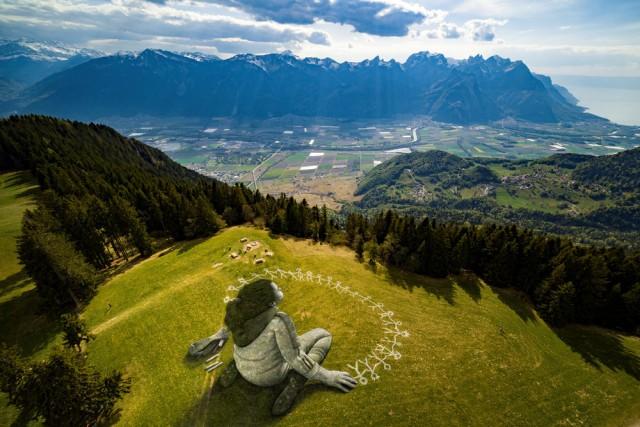Мир с высоты птичьего полёта (13 фото)