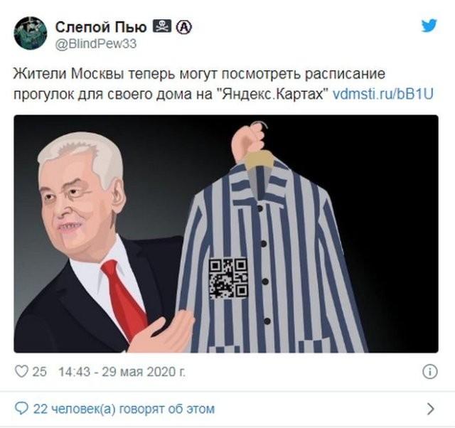 Реакция россиян на введение графика прогулок (15 фото)