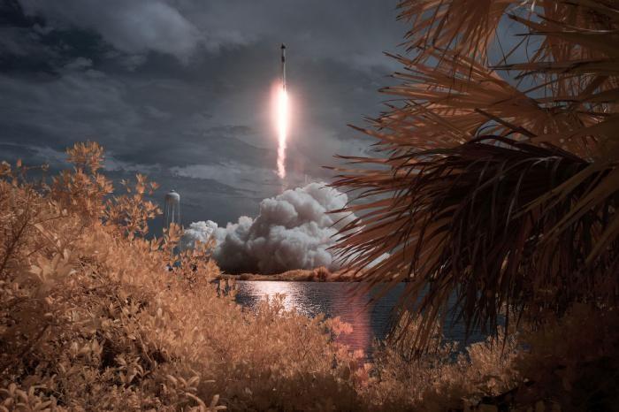 Как прошел старт пилотируемого космического корабля (16 фото)