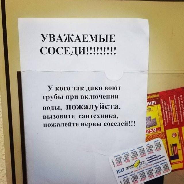 Смешные объявления с российских просторов (15 фото)