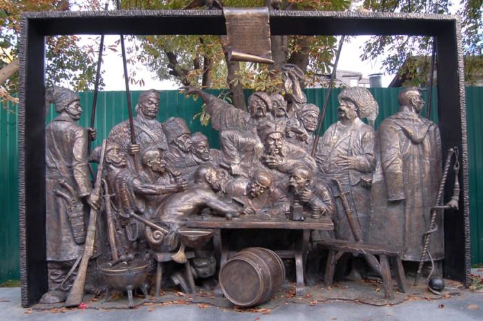 Почему Репин изобразил казака на картине без одежды (8 фото)