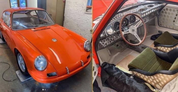 Мужчина планирует сделать самый легкий Porsche 911 в истории (11 фото)