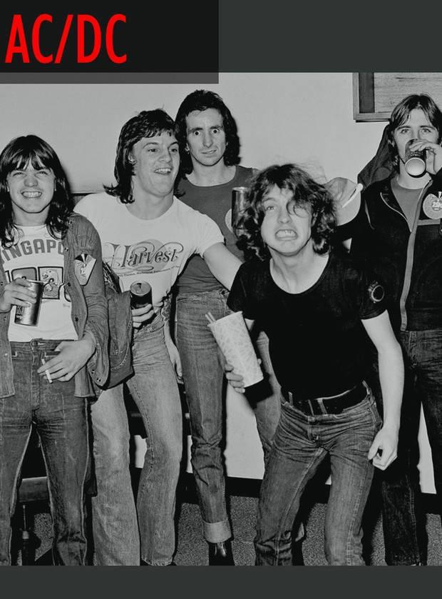 Знаменитые группы на заре своей популярности (18 фото)