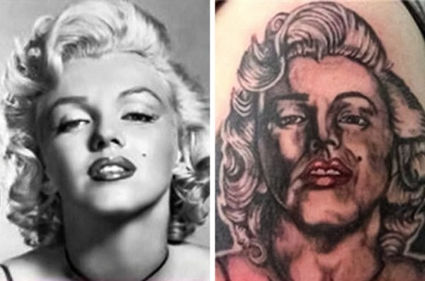 Подборка смешных и очень провальных татуировок (18 фото)