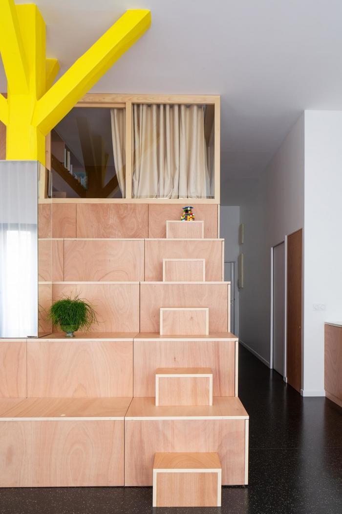 Квартира без стен во Франции (19 фото)