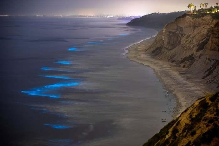 Удивительное световое шоу, созданное самой природой (6 фото)
