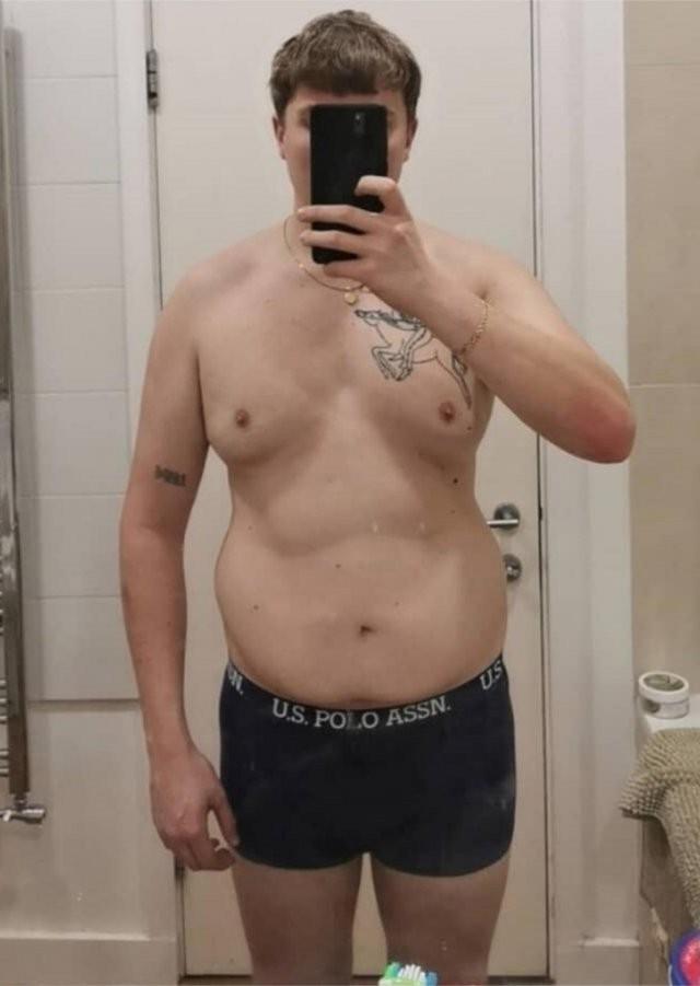Харви Квирк - от 130 кг до подтянутого и спортивного тела (12 фото)