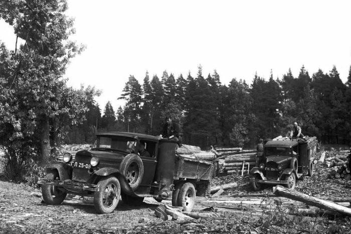 ЗиС-21А: как работал грузовой автомобиль на дровах (7 фото)