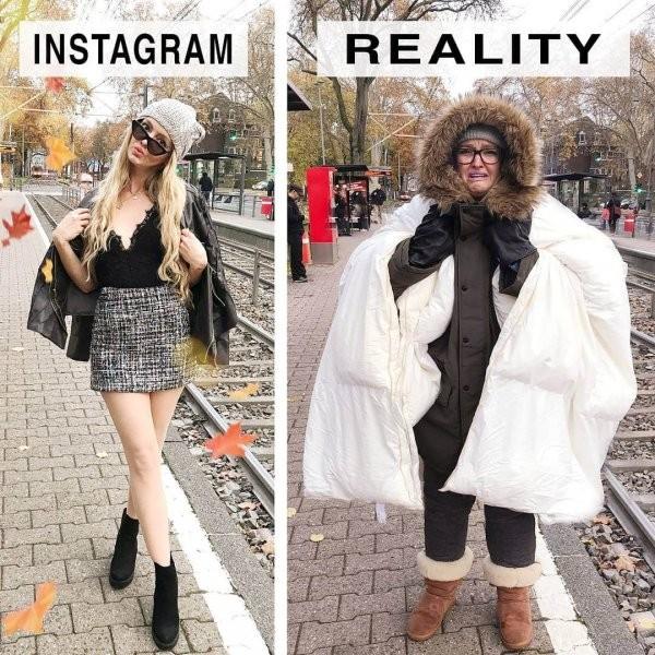 Джеральдина Уэст раскрывает правду снимков для Instagram (14 фото)
