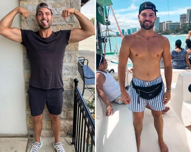 Картер Гуд за два года похудел на 68 кг и теперь делится (11 фото)