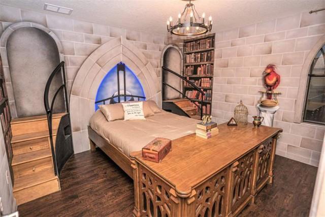 Тематическая вилла для фанатов Гарри Поттера (27 фото)