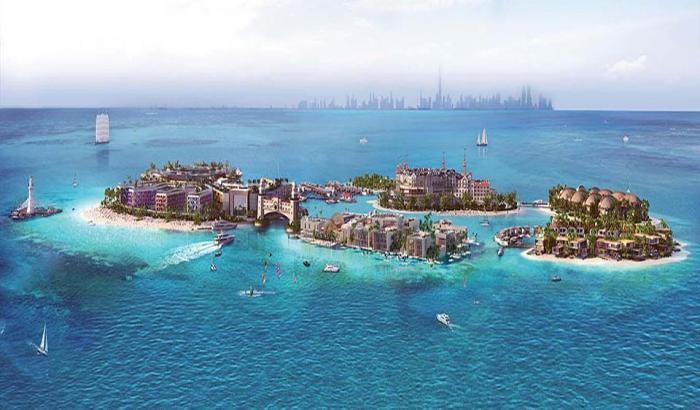 В Дубае построят «собственную Европу» (10 фото)