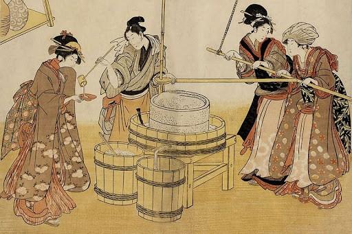 Любопытные факты о саке (6 фото)