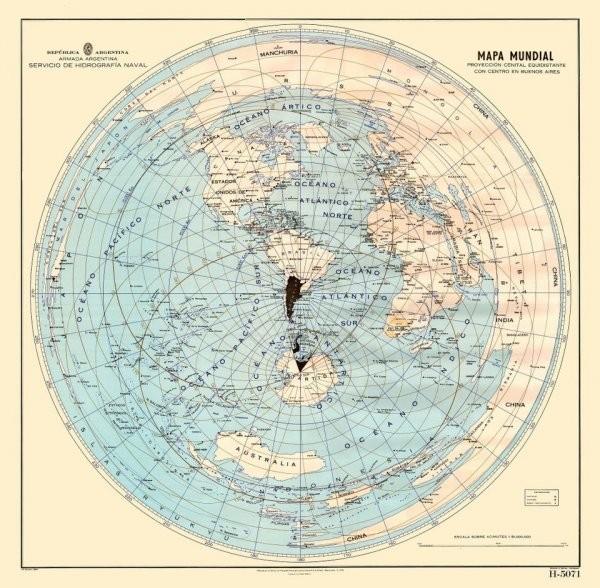 Как выглядит карта мира в разных странах (10 фото)