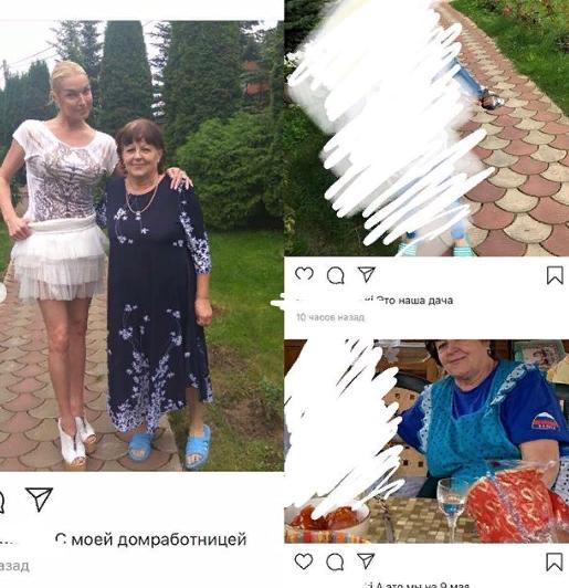 Волочкову застукали на генеральской даче (4 фото)