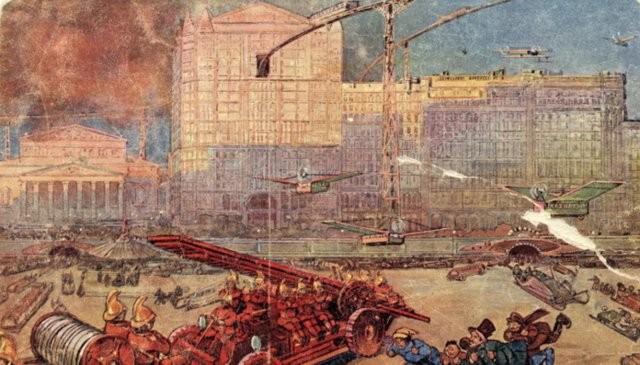 Как будет выглядеть Москва в 2259 году (9 фото)