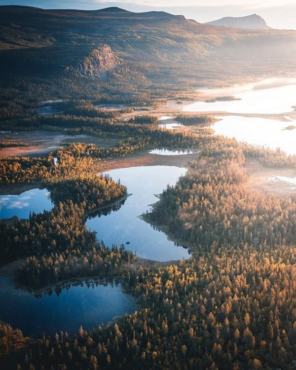 Удивительные уголки Земли в объективе шведского фотографа (25 фото)