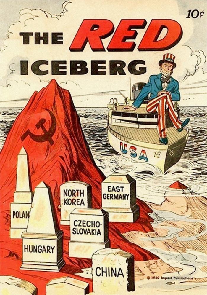 Плакаты, которые демонизировали Советский Союз (10 фото)