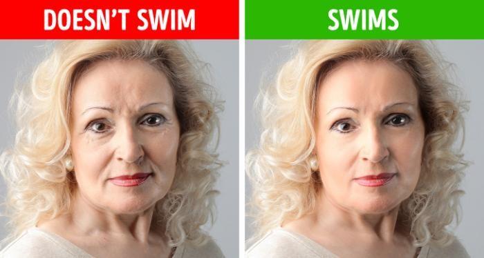 Как поменяется тело, если начать плавать всего 3 раза в неделю (6 фото)