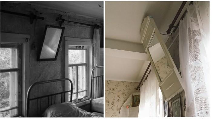Почему в Советском Союзе картины и зеркала вешали под углом (6 фото)