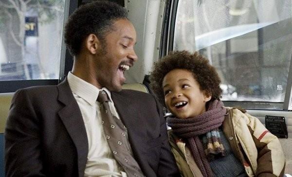 Знаменитости которые снимались в кино вместе с детьми (12 фото)