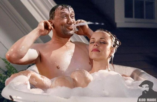 Голливудских киногероев добавили в советские фильмы (15 фото)