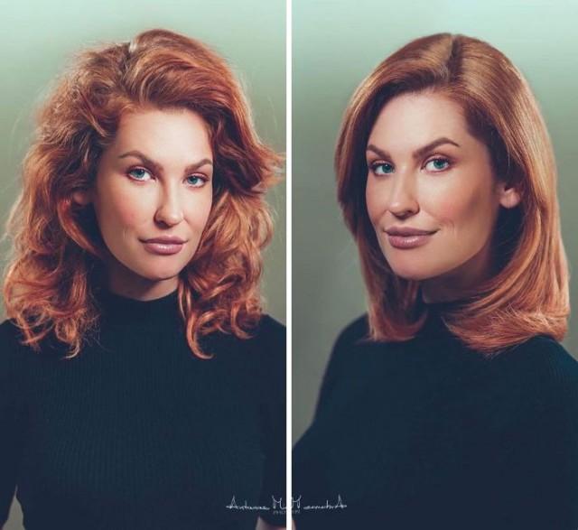 Как стрижка может изменить внешность (30 фото)