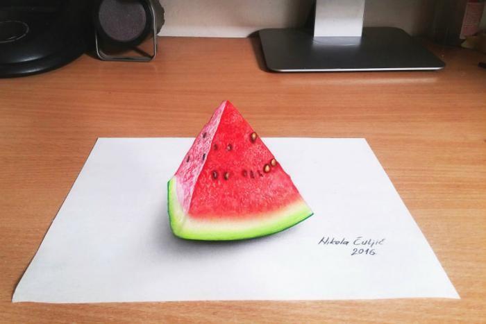 Гиперреалистичные 3D-рисунки от художника-самоучки (14 фото)