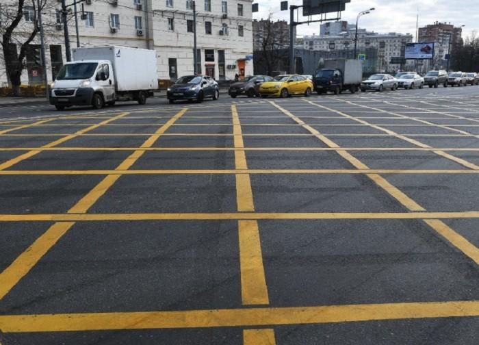 Для чего нужна желтая разметка на дорогах (7 фото)