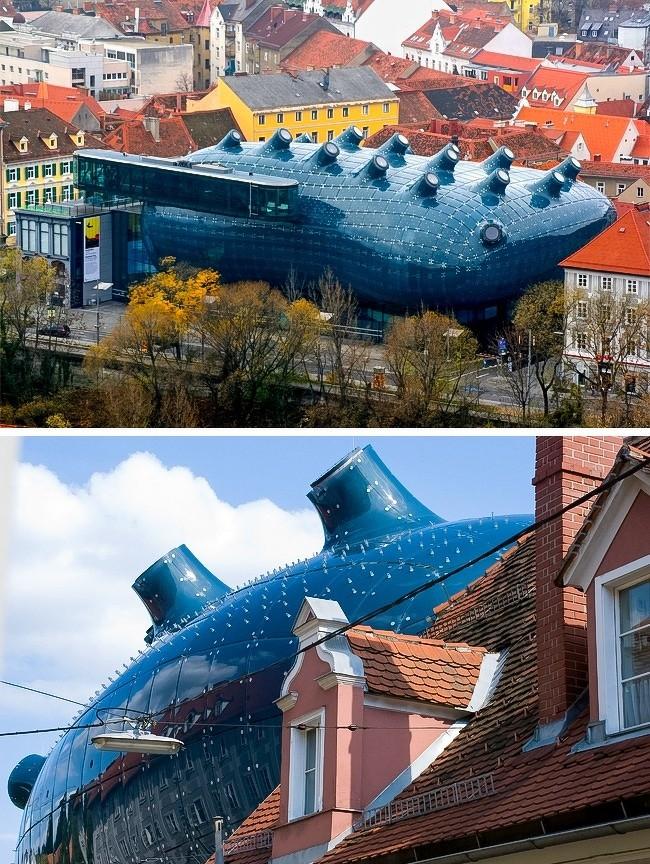 Фантастические здания, которые переносят в параллельность (11 фото)
