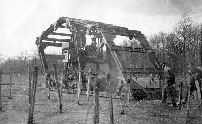 Самые странные боевые машины в истории армий (5 фото)