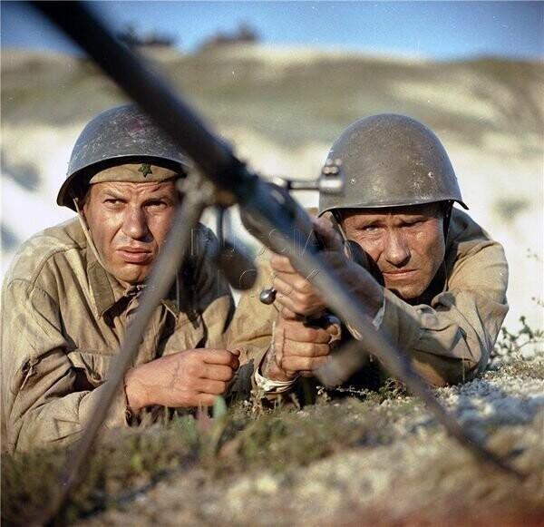 История создания фильма «Они сражались за Родину» (23 фото)