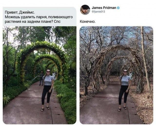 Джеймс Фридман вновь порадовал смешными работами (15 фото)