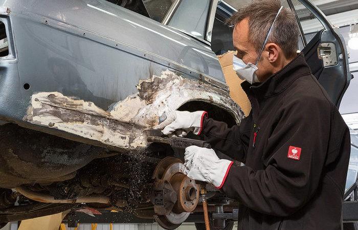 Как правильно удалить ржавчину с кузова автомобиля (5 фото)