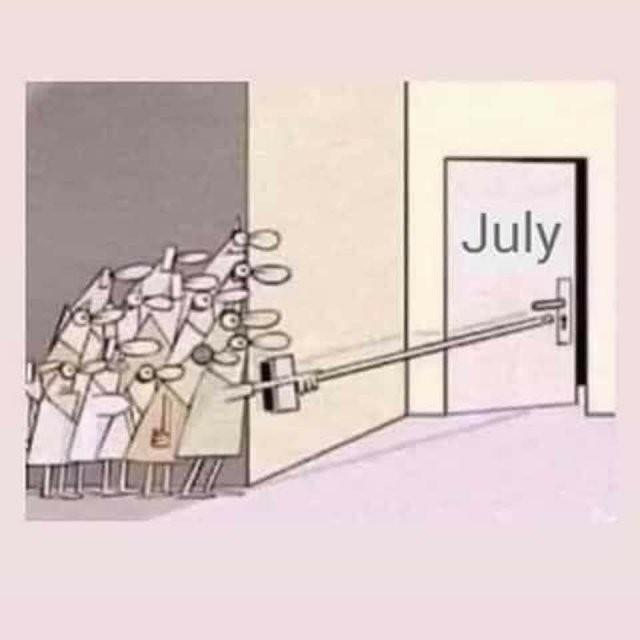 Коронавирус, обнуление и июль: лучшие мемы из Сети (10 фото)