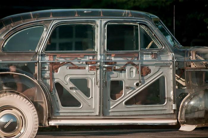 Автомобиль-призрак: Pontiaс Plexiglas 1939 года (10 фото)