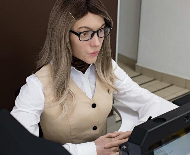 В пермском МФЦ появился необычный работник (4 фото)