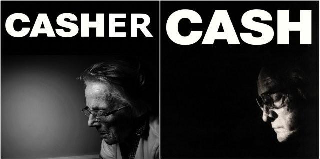 Английские пенсионеры косплеят обложки популярных альбомов (12 фото)