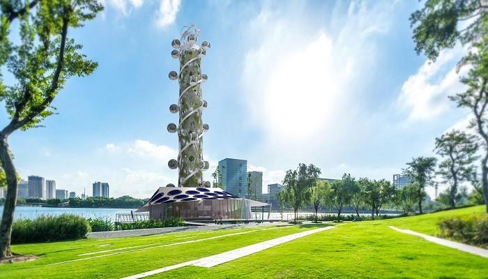 В Нидерландах появится новый небоскреб-аттракцион (9 фото)